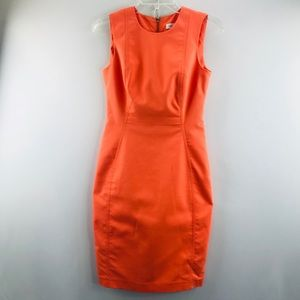 Calvin Klein peach dress SZ:2